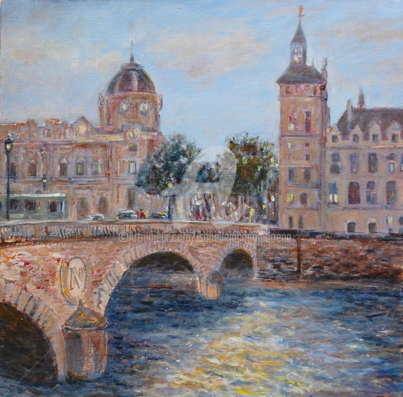 Isabelle Jacq Gamboena - Pont Saint Michel, Paris