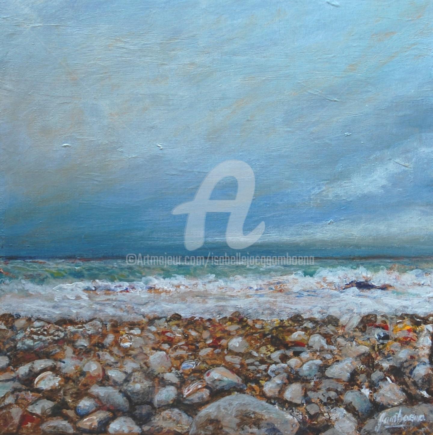 Isabelle Jacq Gamboena - A la orilla del mar