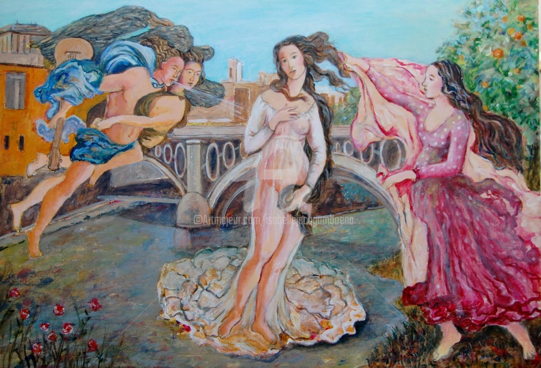 Isabelle Jacq Gamboena - Nacimiento de Venus en Triana