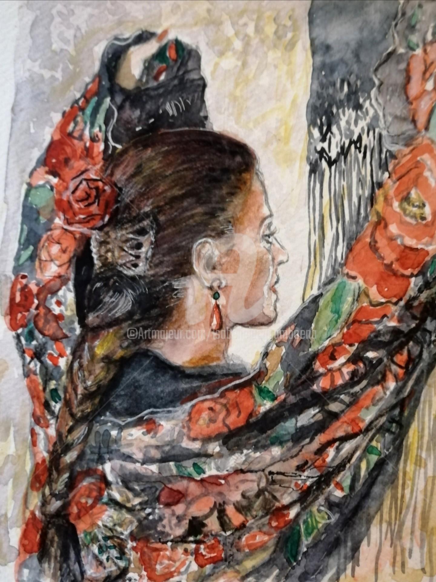 Isabelle Jacq Gamboena - Mujer morena