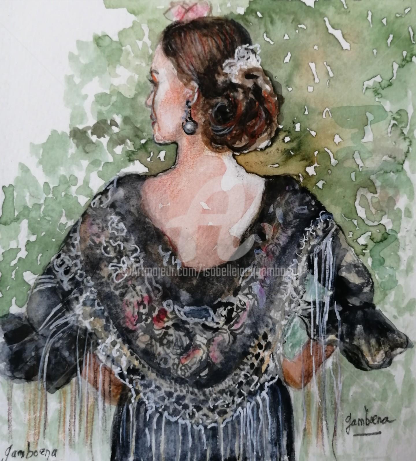 Isabelle Jacq Gamboena - Sueño andaluz-4