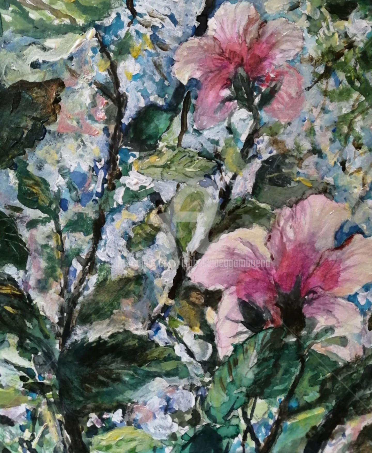 Isabelle Jacq Gamboena - Flores del aire