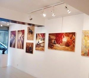 Page facebook peintures Isabelle Jacq Gamboena